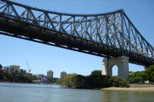 one of Brisbane's many bridges
